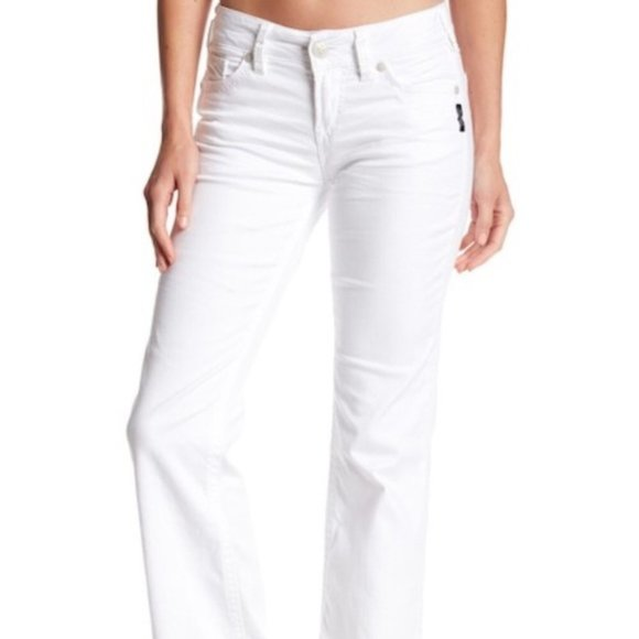 Silver Brand White Jeans 32/32